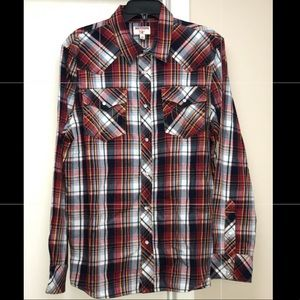 True Religion Western Button Down Shirt